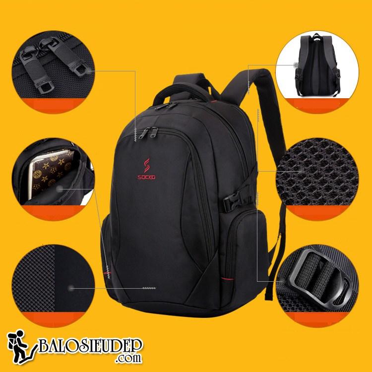 Balo laptop Socko SH671 màn hình 17.3