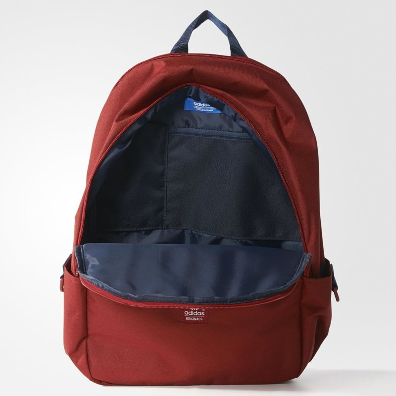 balo laptop adidas essential originals backpack màu đỏ