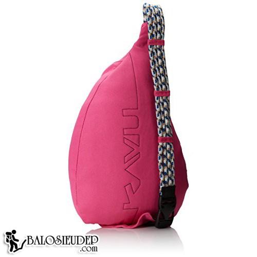 Kavu Rope Sling Pack mẫu túi đeo chéo màu hồng