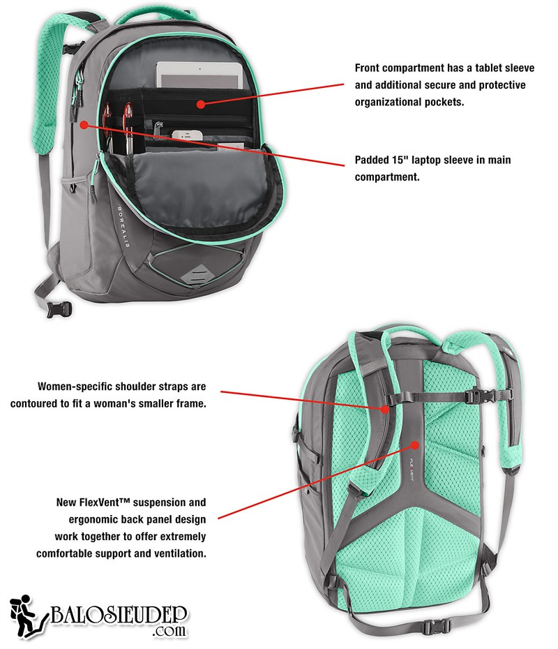 the north face borealis backpack cao cấp