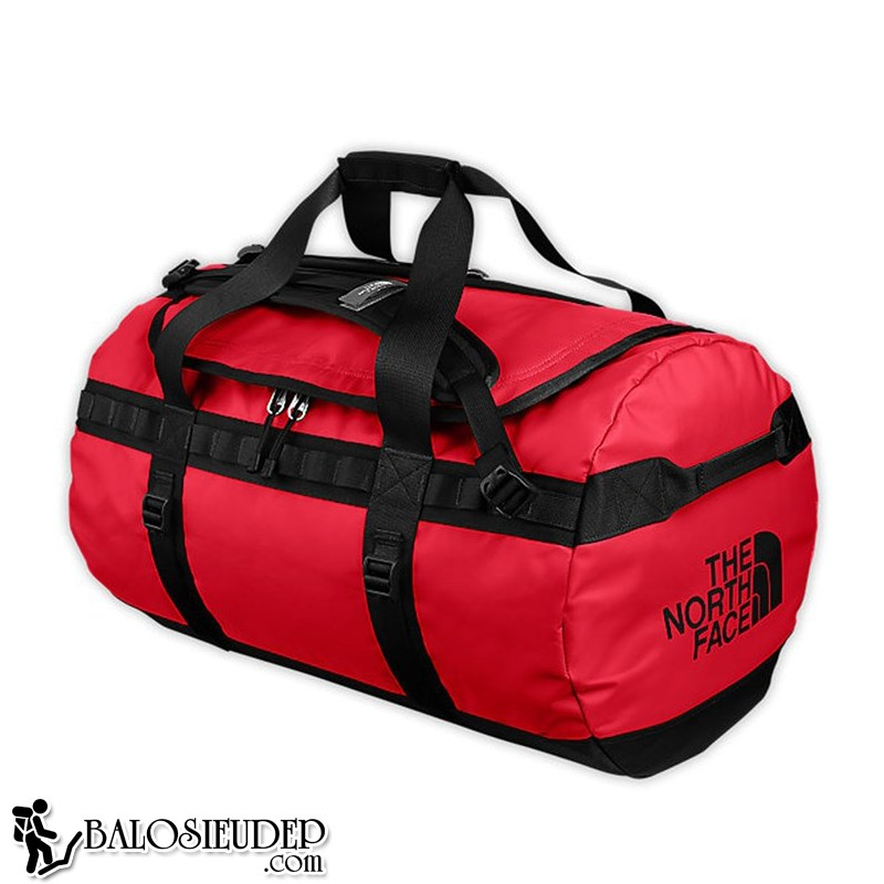 Túi trống the north face base camp Duffle Bag Size S màu đỏ