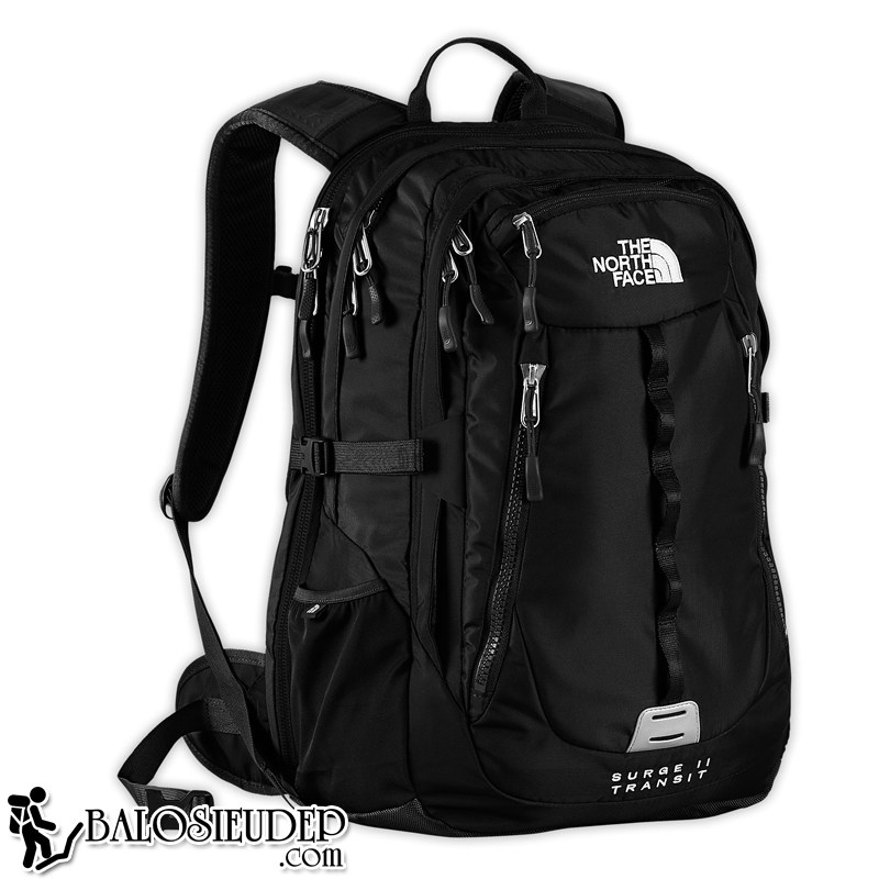 balo laptop the north face surge II transit backpack cao cấp