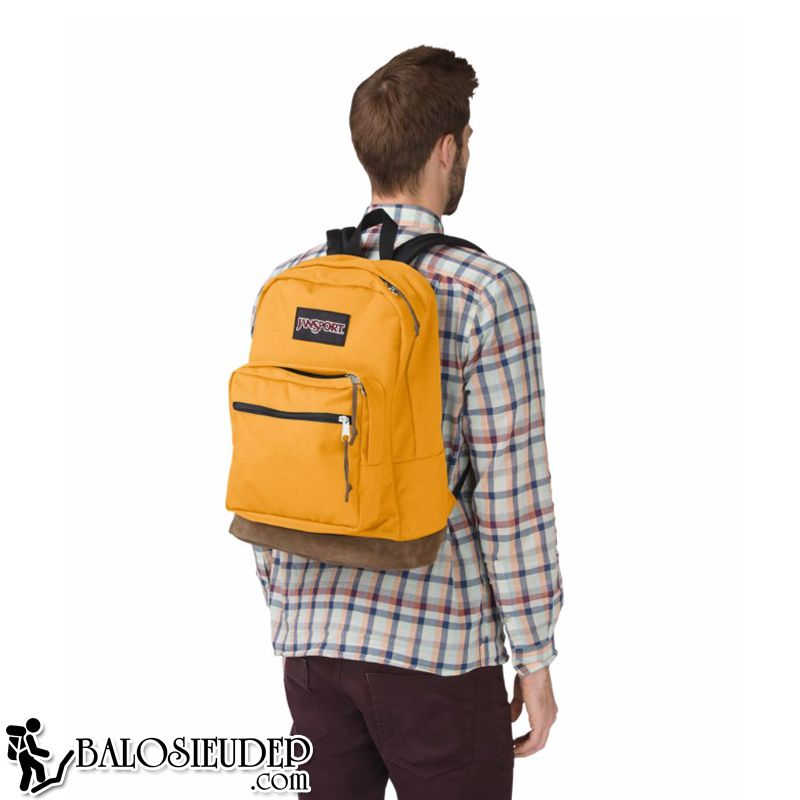 balo đựng laptop jansport right pack english mustard cao cấp