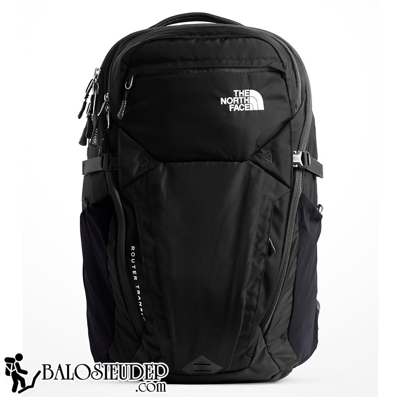 balo laptop the north face router transit 2018 màu đen
